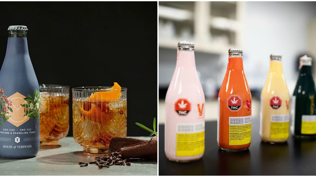 This Canadian Company Offers The Largest Selection of Cannabis Drinks
