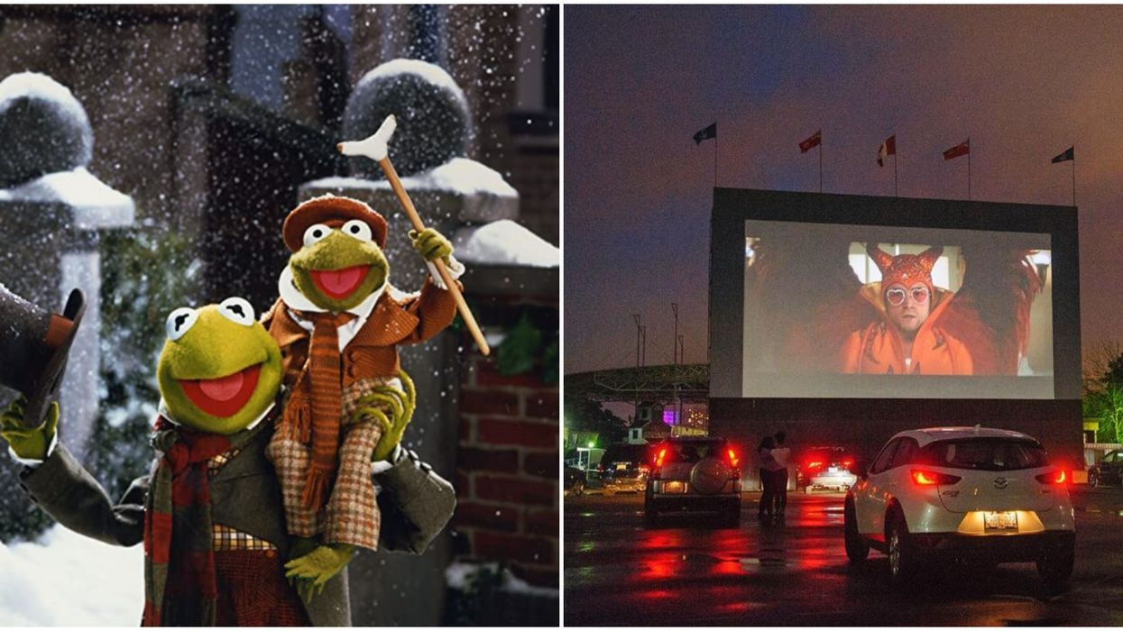 Toronto Drive-In Theatre At Ontario Place Is Showing Christmas Movies Starting This Week