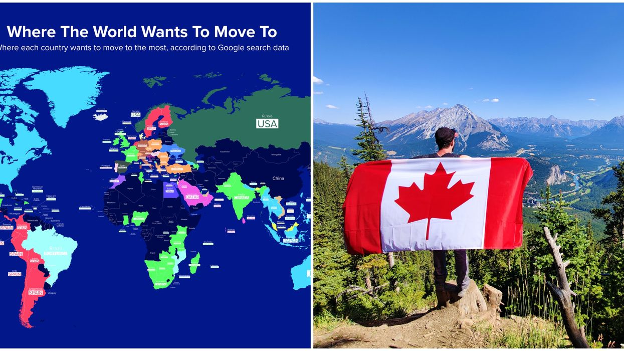 Canada Is The Most Desirable Place To Live On Earth New Data Shows