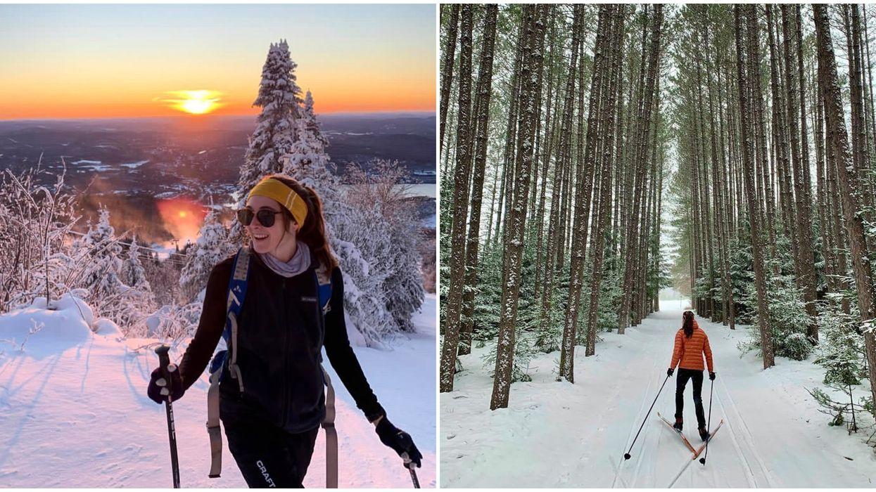 8 endroits à couper le souffle où faire du ski de fond à moins de 2h de Montréal
