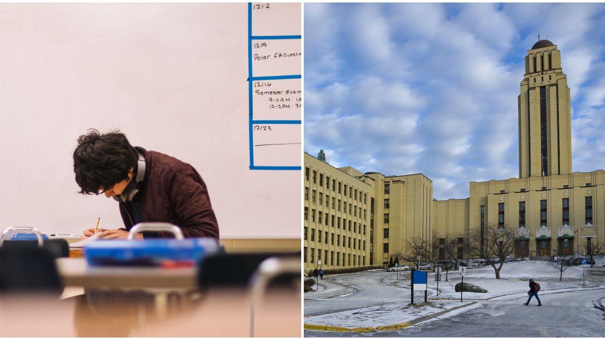 Des examens finaux prévus en personne juste avant Noël font réagir les étudiants au Québec