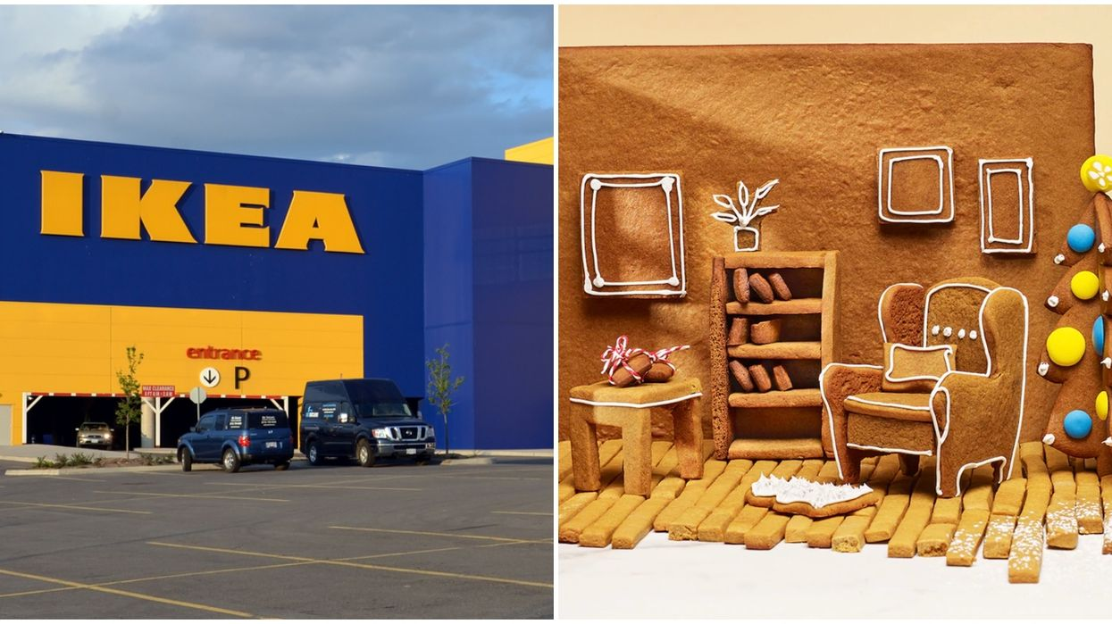 IKEA Canada Has Free Instructions Available For Making Adorable Gingerbread Furniture