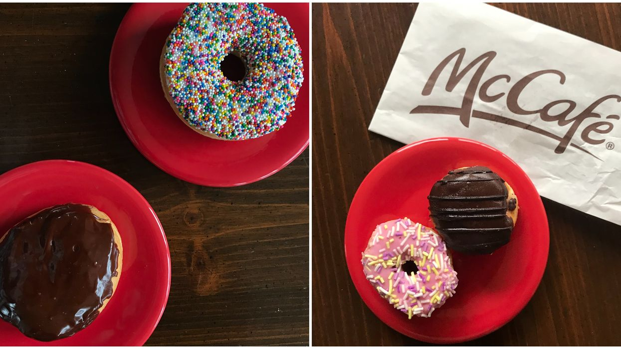 I Tried McDonalds New Donuts vs Tim Hortons & This Is My Honest Opinion