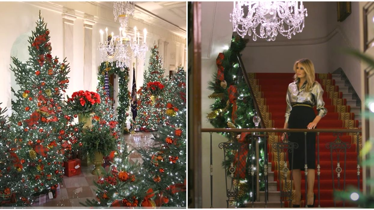 The White House Actually Made Christmas Décor Great Again (VIDEO)