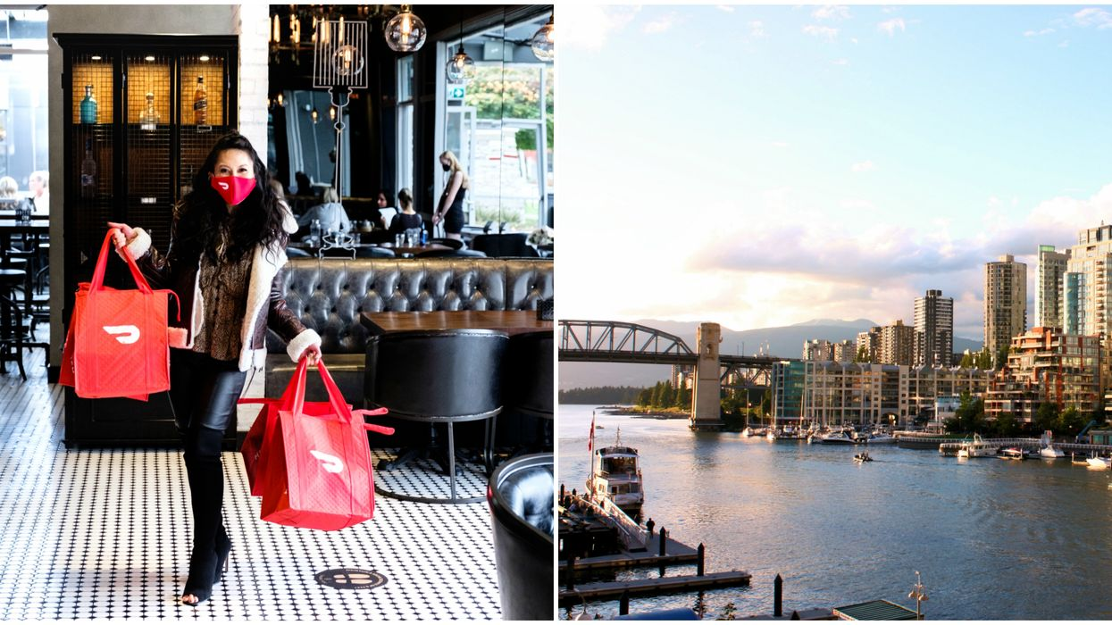 You Can Win A $3500 DoorDash Gift Card To Show Love To BC Restaurants All Year Long