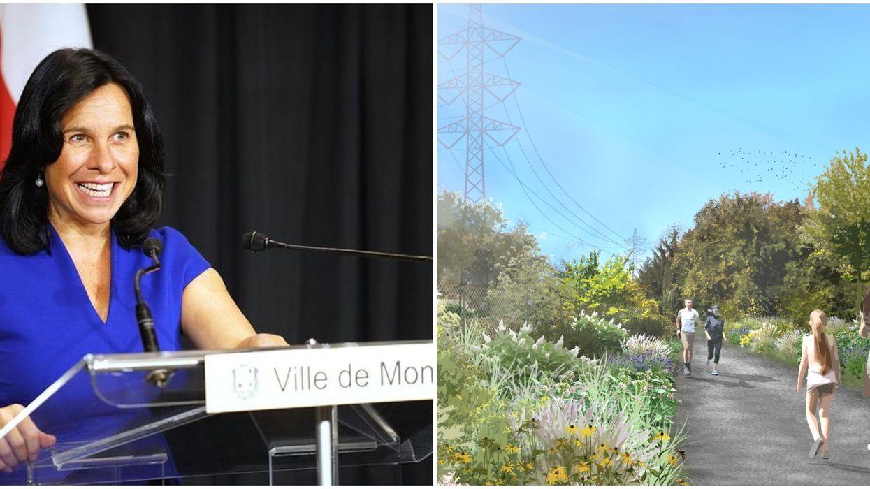Le nouveau «corridor vert » à Montréal va s'étendre sur 27 km et sera aménagé pour 2027