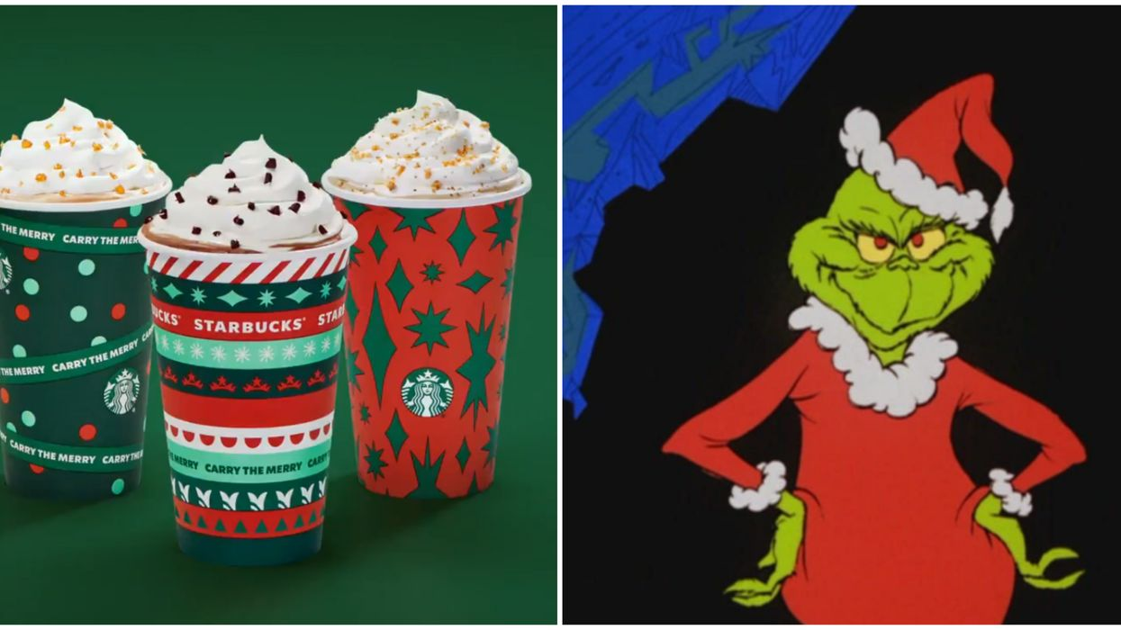 Starbucks Canada Holiday Movie & Drink Pairings Are So Perfectly Festive