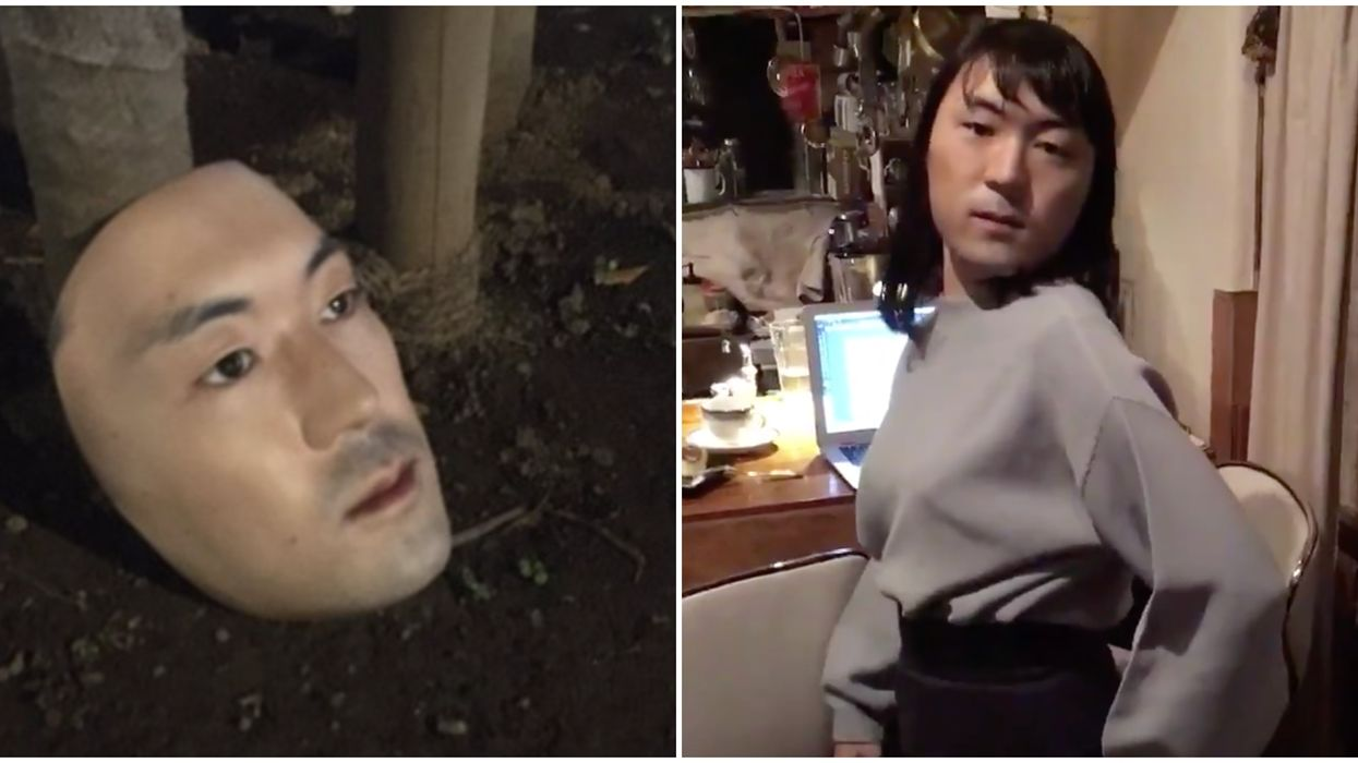 Hyper-Realistic Human Face Masks Actually Exist & They're Very Unsettling (VIDEO)