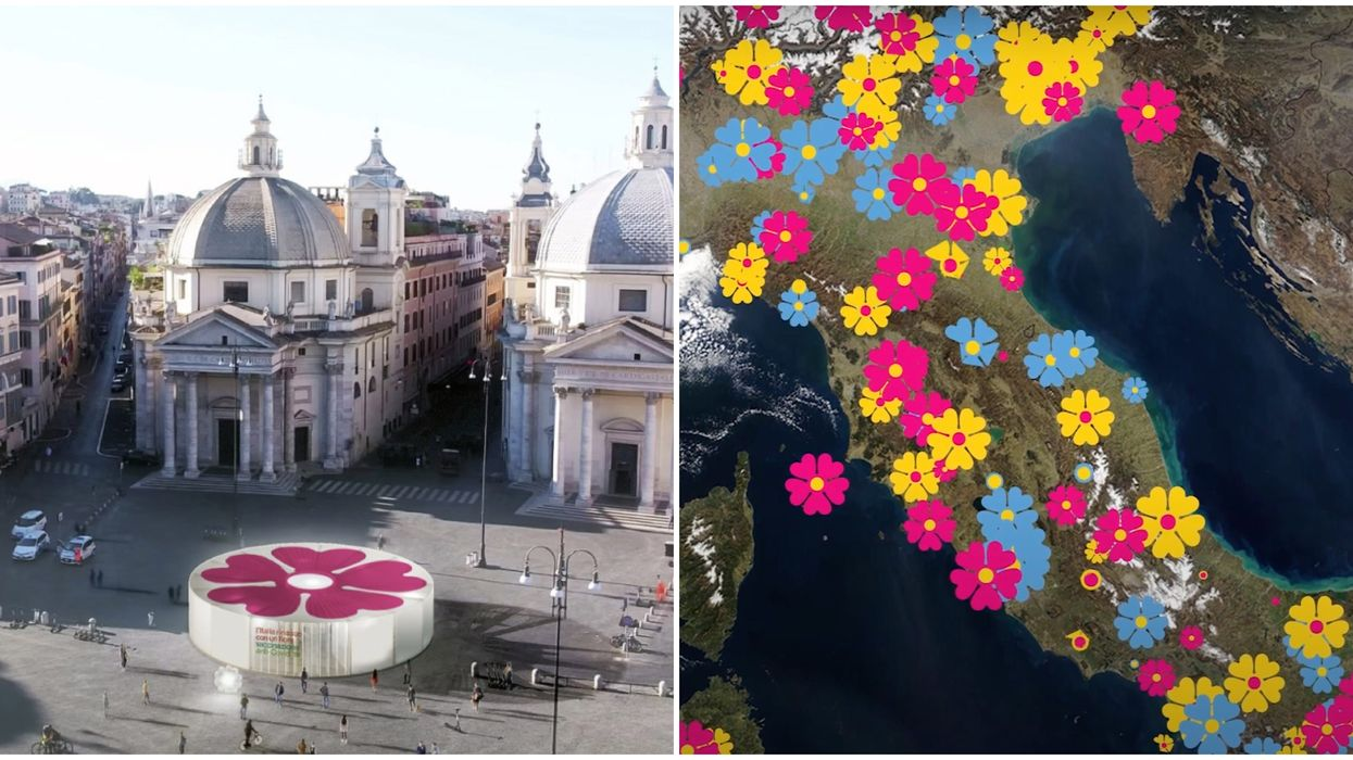 Italy's Flower-Shaped Vaccination Centres Will Celebrate Life In Bloom Again (VIDEO)
