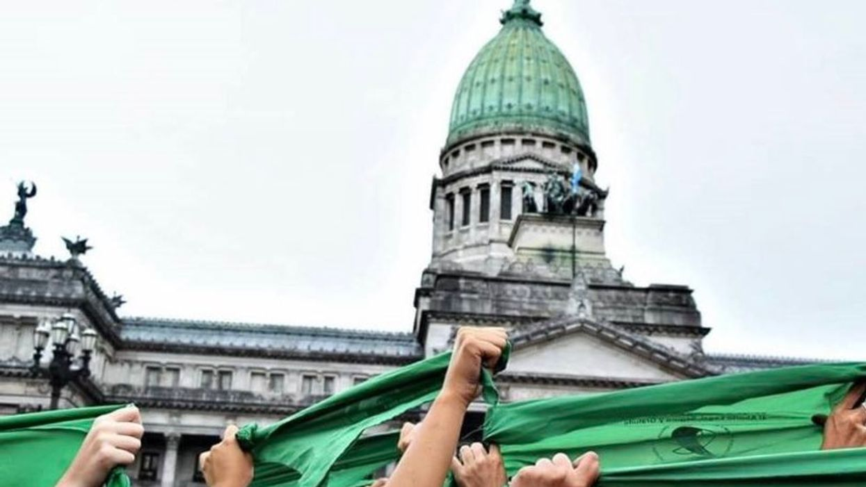 Argentina Made History By Legalizing Abortion & Parties Broke Out In The Street (VIDEO)