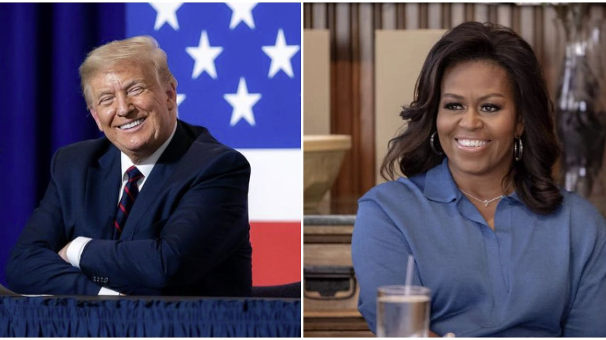 Donald Trump & Michelle Obama Ranked The Most Admired People In America For 2020