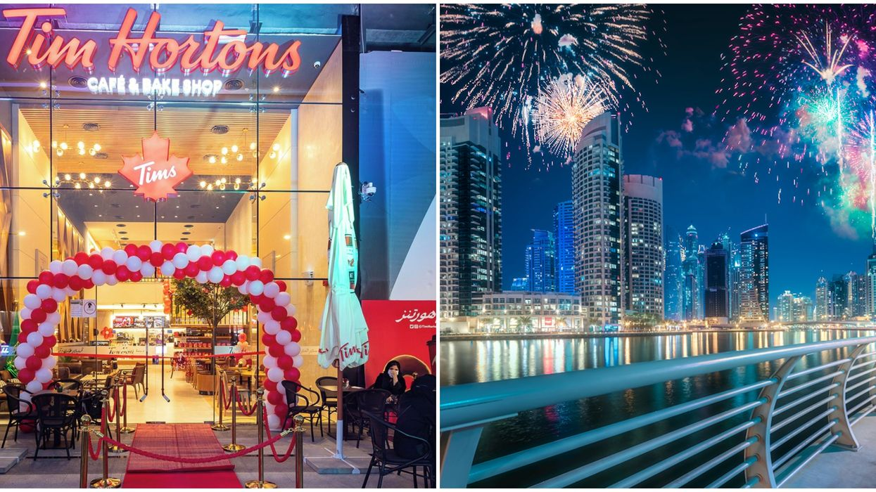 Tim Hortons In Dubai Charged $870 For A 4-Course New Year's Eve Dinner