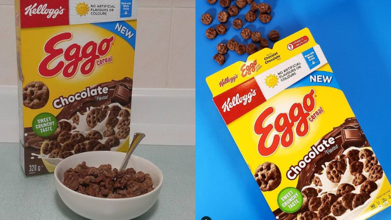 Stop Everything, You Can Now Get Kellogg's Eggo Chocolate Flavour Cereal In Canada