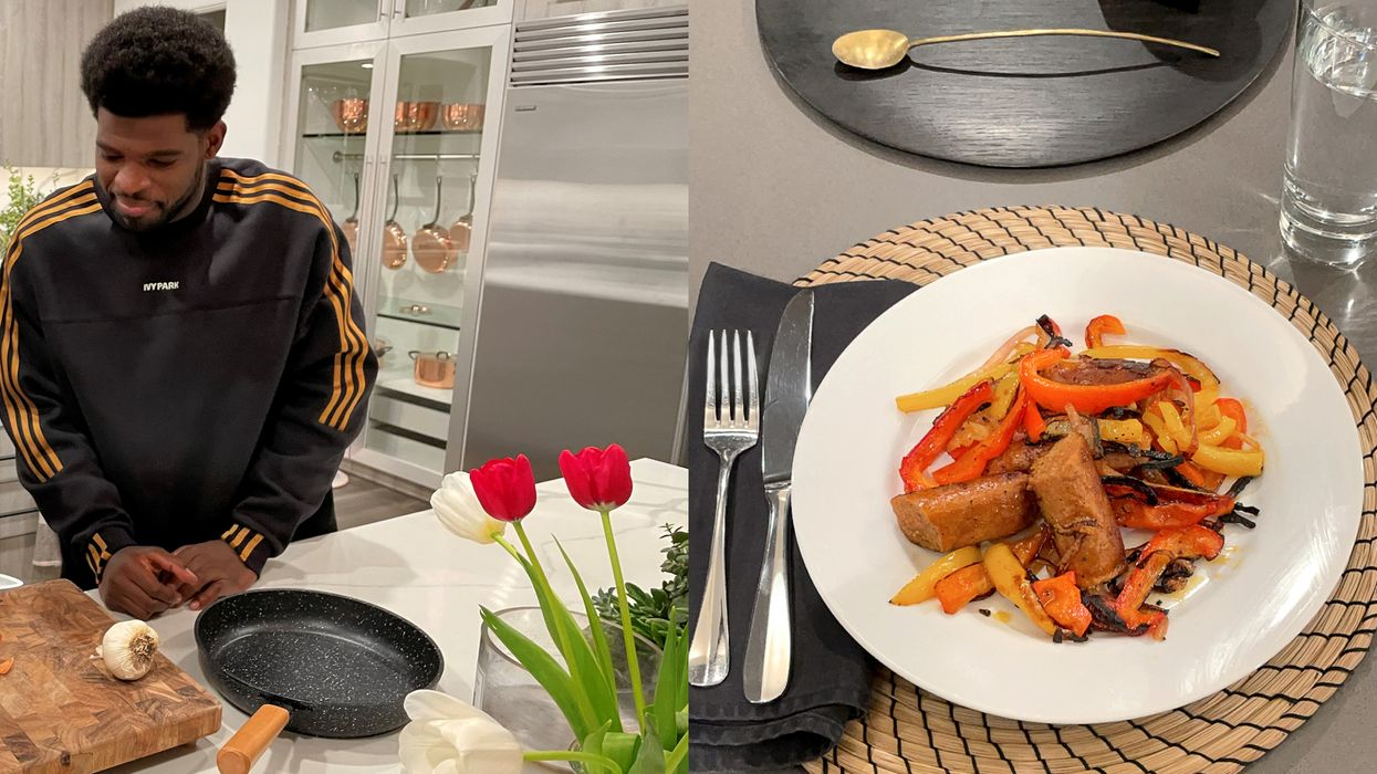 P.K. Subban Just Shared 2 Of His Favourite Plant-Based Recipes & They're Super Easy To Make