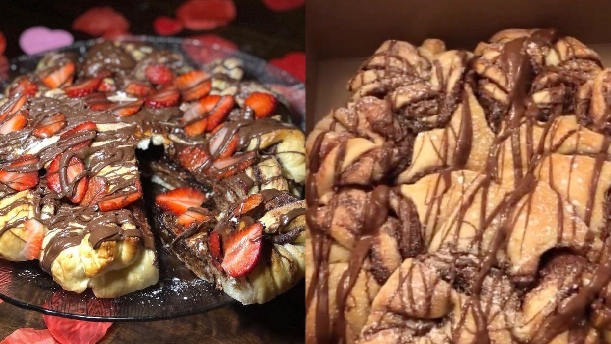 Cette boulangerie à Laval fait un dessert décadent à souhait qui dégouline de Nutella