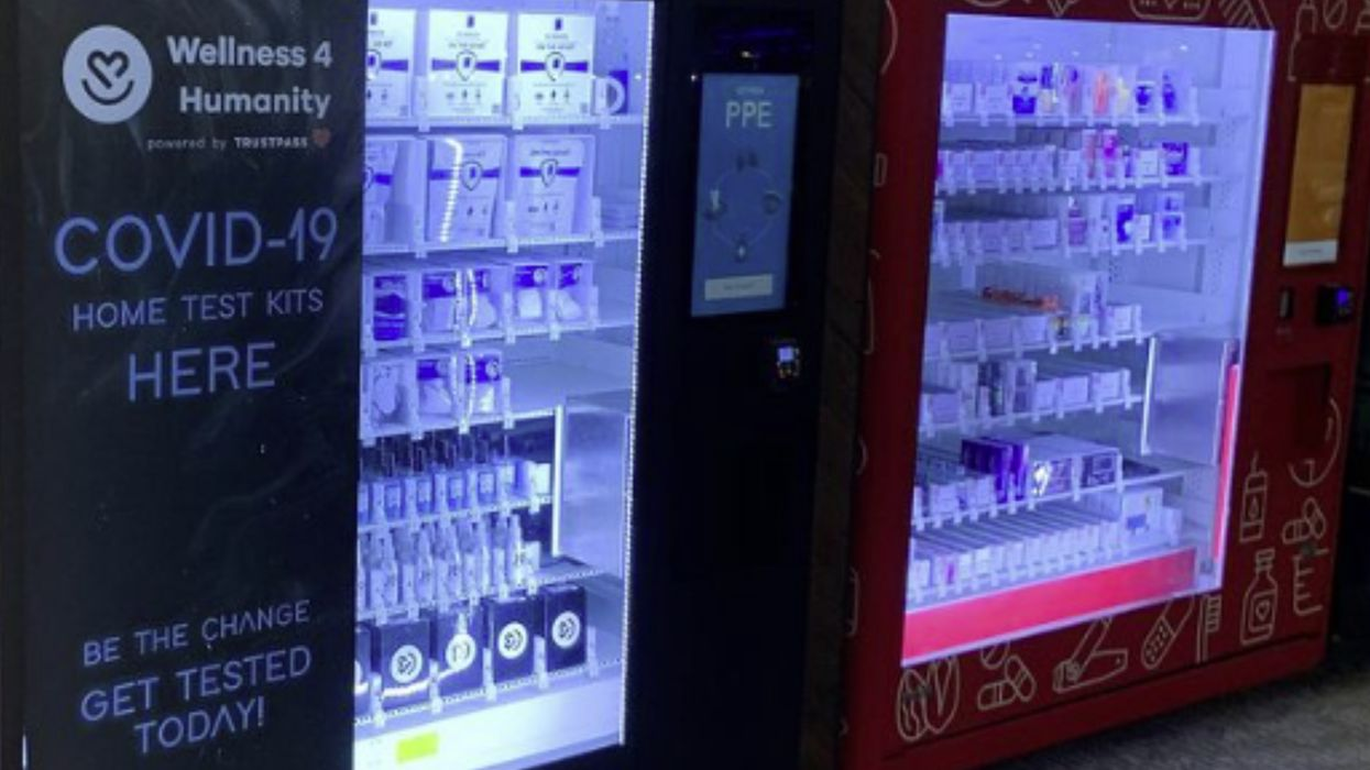 A New Type Of Vending Machine Is Coming In the Fight Against COVID-19