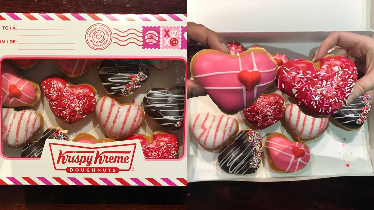 I Tried All Of Krispy Kreme's New Valentine's Day Donuts & This Is My Honest Opinion