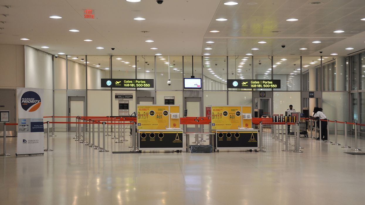 Peel Police Arrested A Man For Using A Fake Negative COVID-19 Test At Pearson Airport