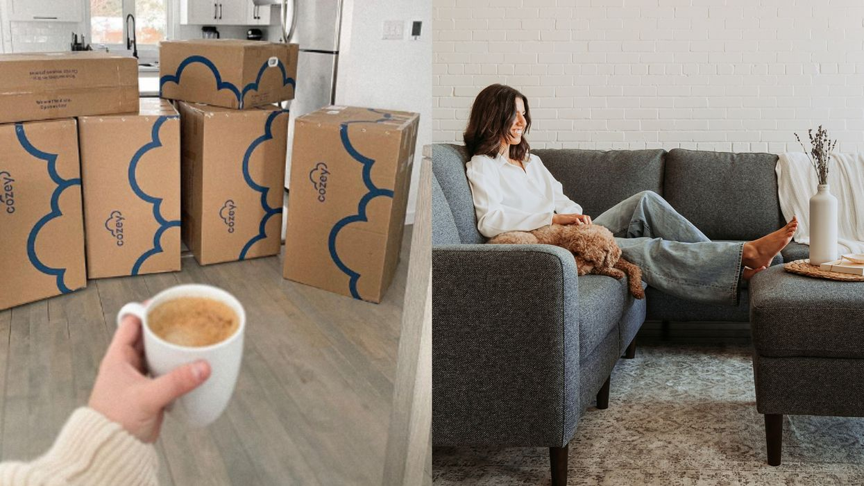 Canada's First Sectional-In-A-Box Is Here & It's Perfect For Any Space