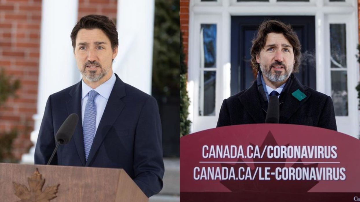 Canada's COVID-19 Restrictions Have Been Around For 1 Year & Here's What Trudeau Said