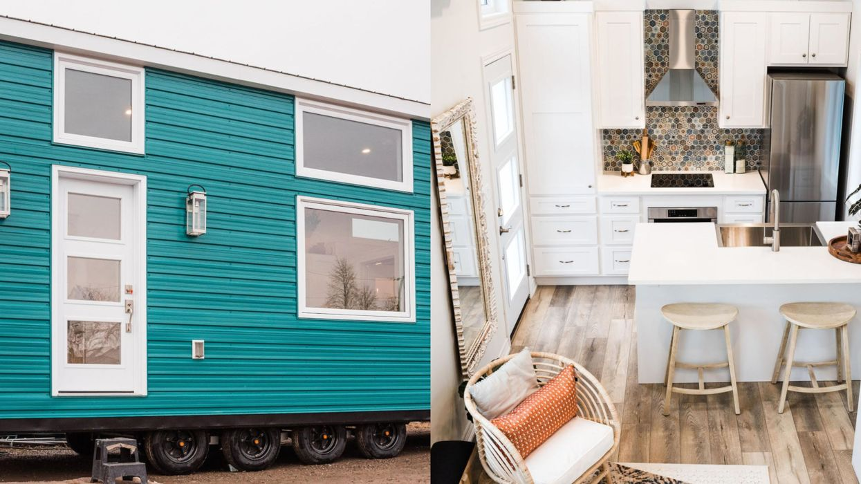 This $125K Tiny House For Sale In Ontario Is A 'Beachy Boho' Dream (PHOTOS)