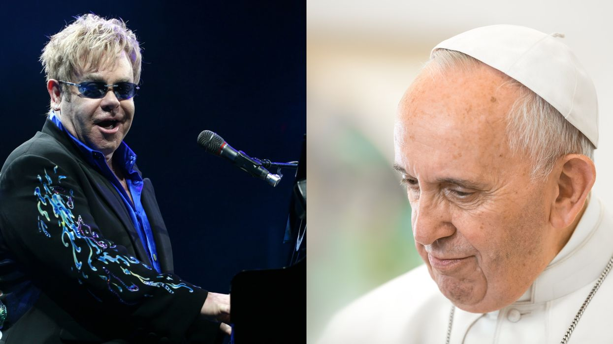 Elton John Calls Out The Vatican Following Their Refusal To Bless Same-Sex Couples