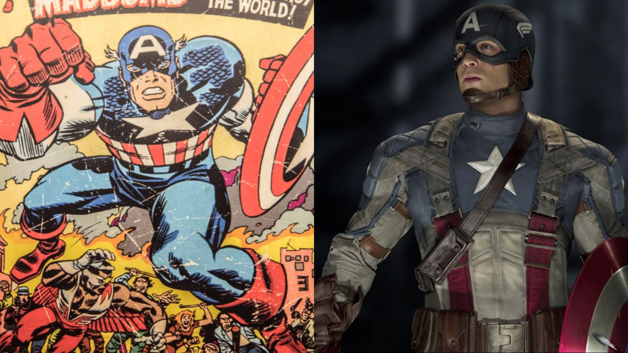 Marvel's Upcoming Captain America Comic Will Feature A New LGBTQ+ Superhero