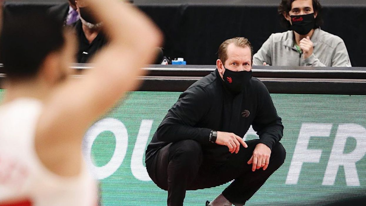 Nick Nurse Has To Shell Out $50K After Swearing And Chucking His Mask