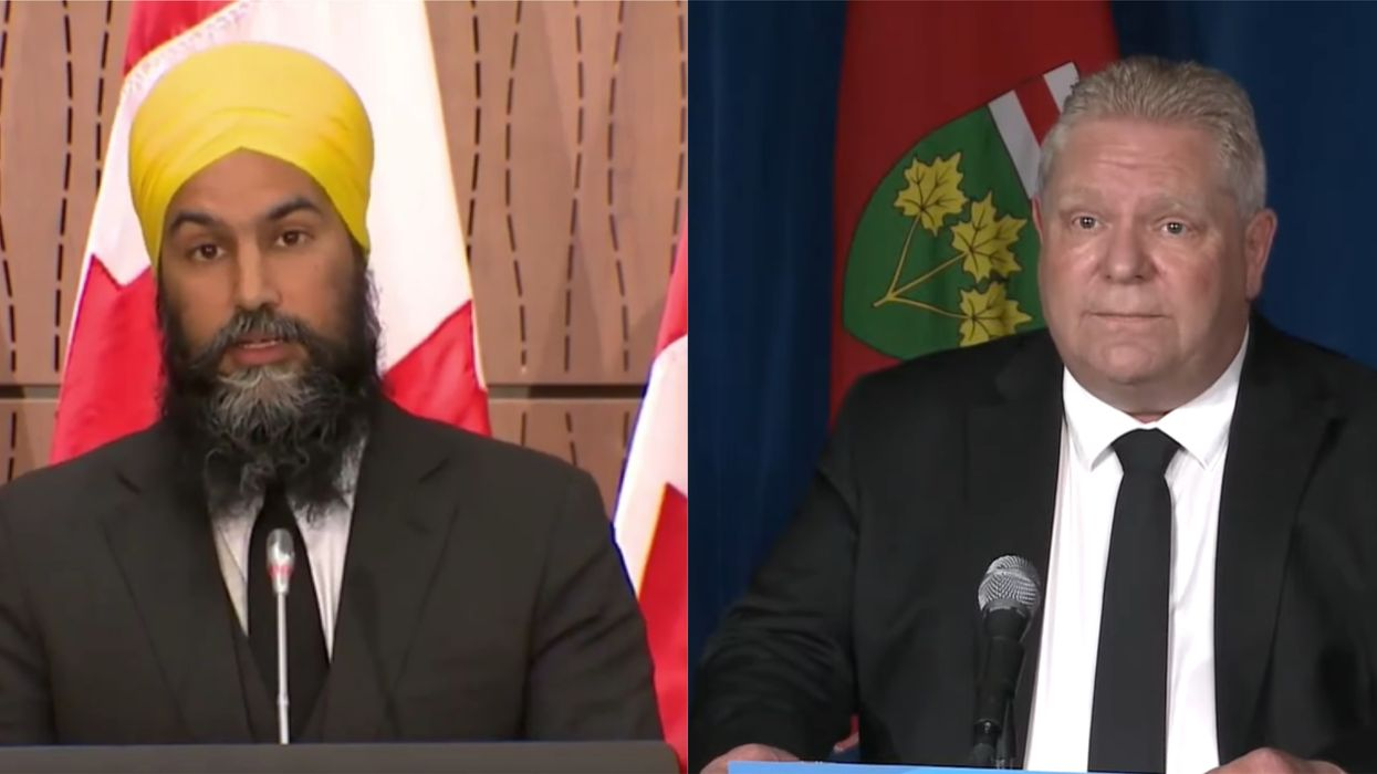 Ontario's Stay-At-Home Order Police Powers Called Out By Jagmeet Singh