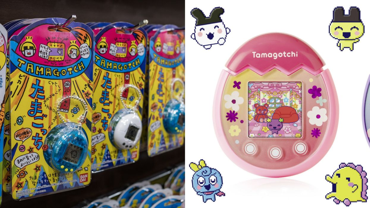 Tamagotchis Are Finally Back In Their Classic '90s Style But With Modern Features
