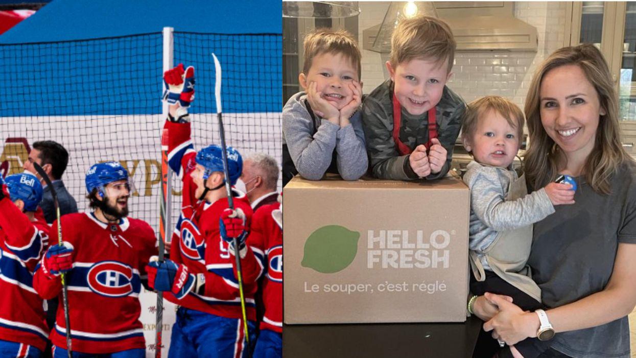Tu peux obtenir 100 $ chez HelloFresh grâce aux Canadiens de Montréal et voici comment