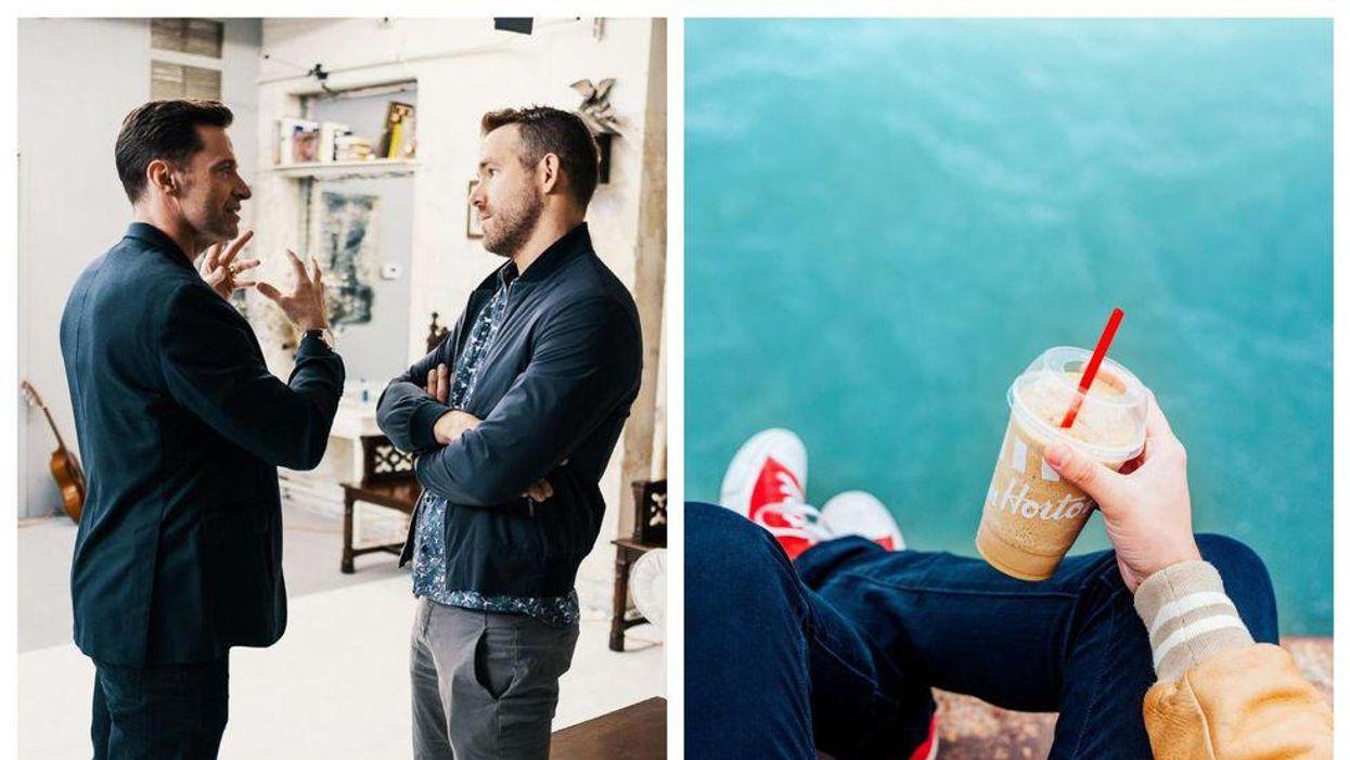 Tim Hortons Reignited The Ryan Reynolds & Hugh Jackman Feud