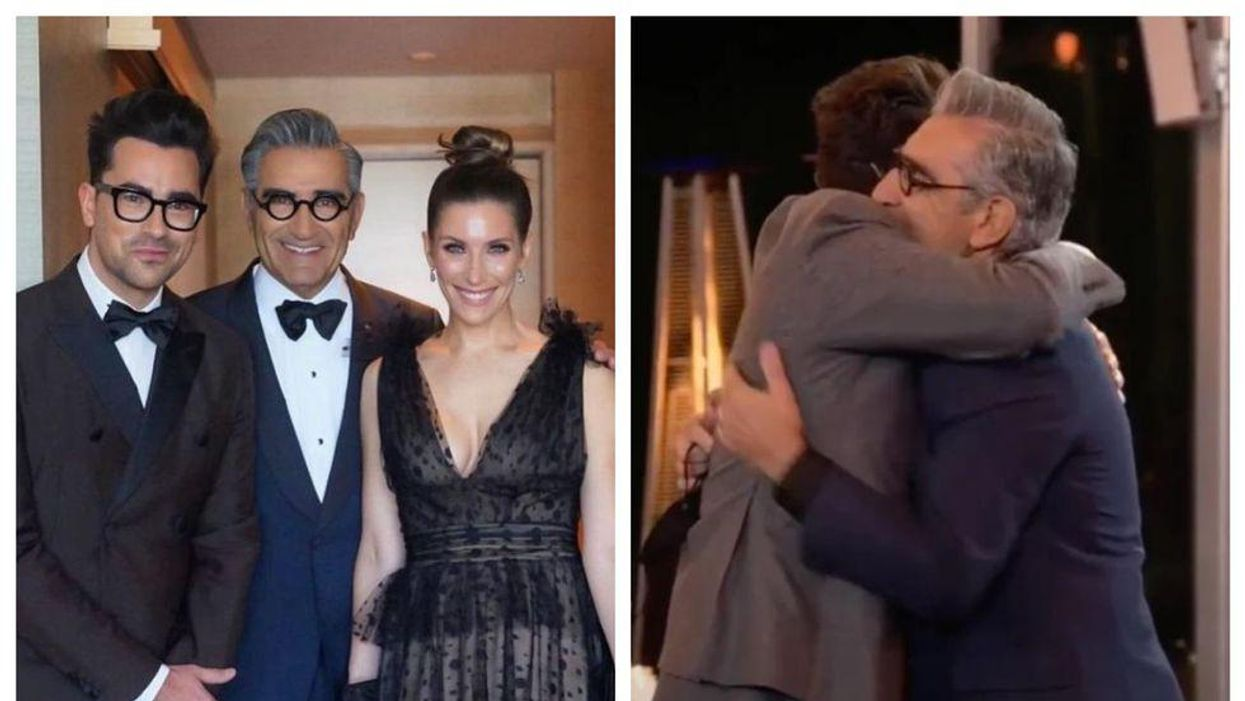 Dan Levy Won Another Award & His Dad's Reaction Was Perfect