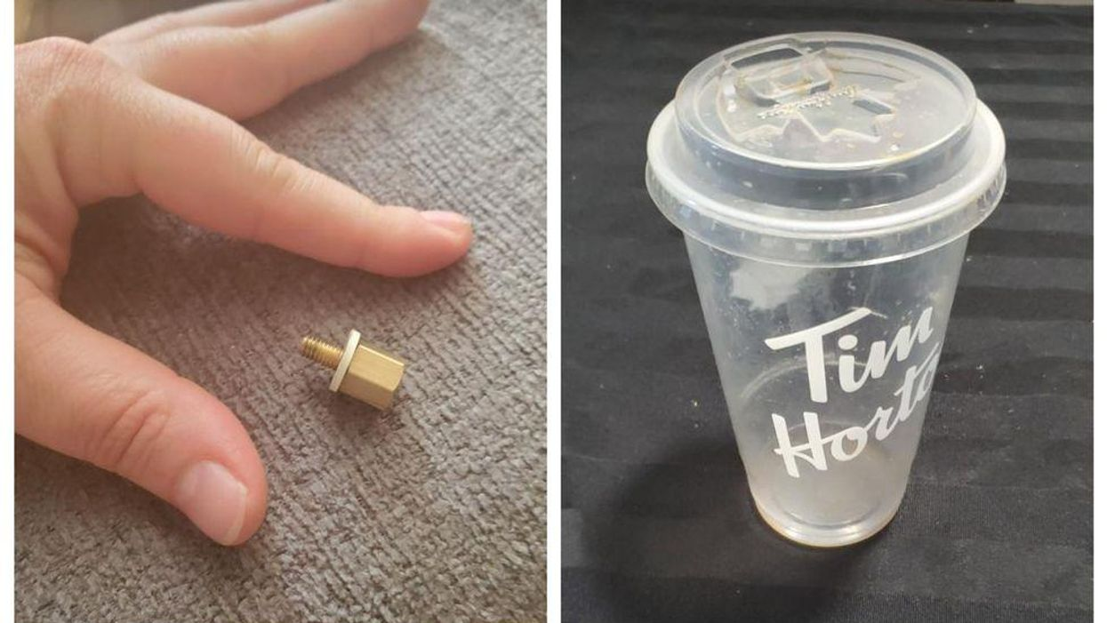 Ontario Woman Is In 'Disbelief' After Choking On A Screw In Her Tim Hortons Iced Coffee