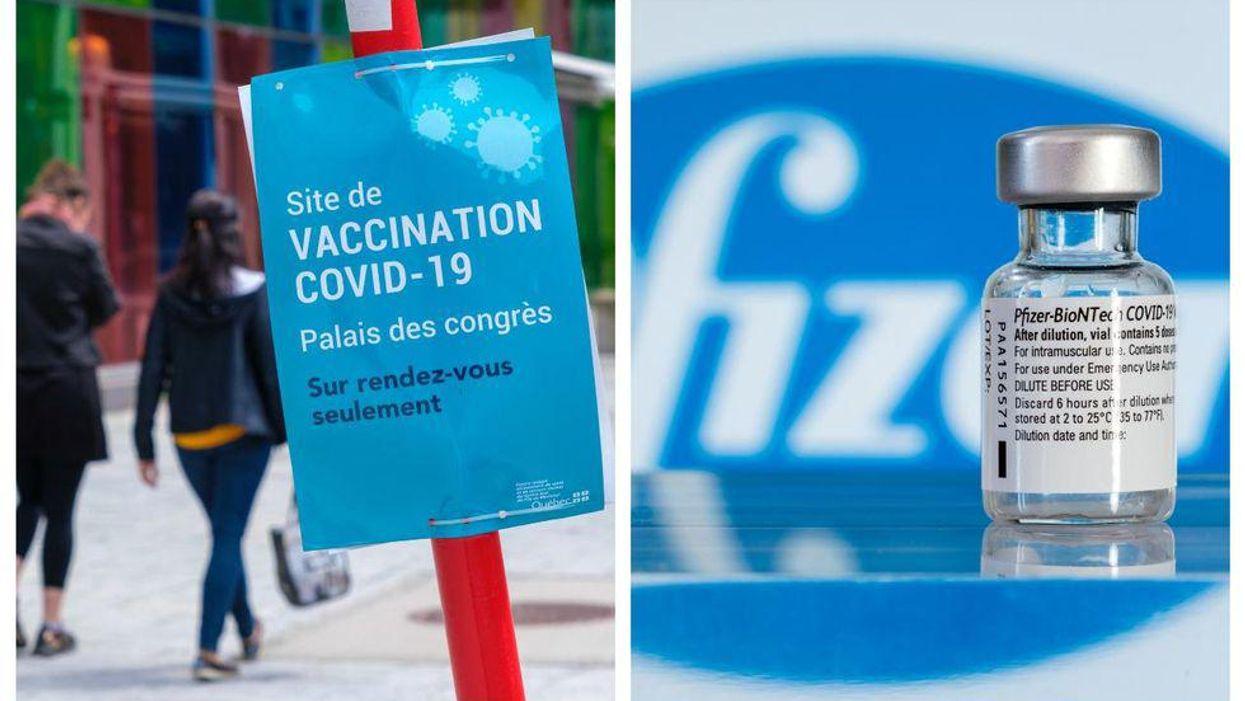 Pfizer: Le Québec recevra 600 000 doses de moins en juillet
