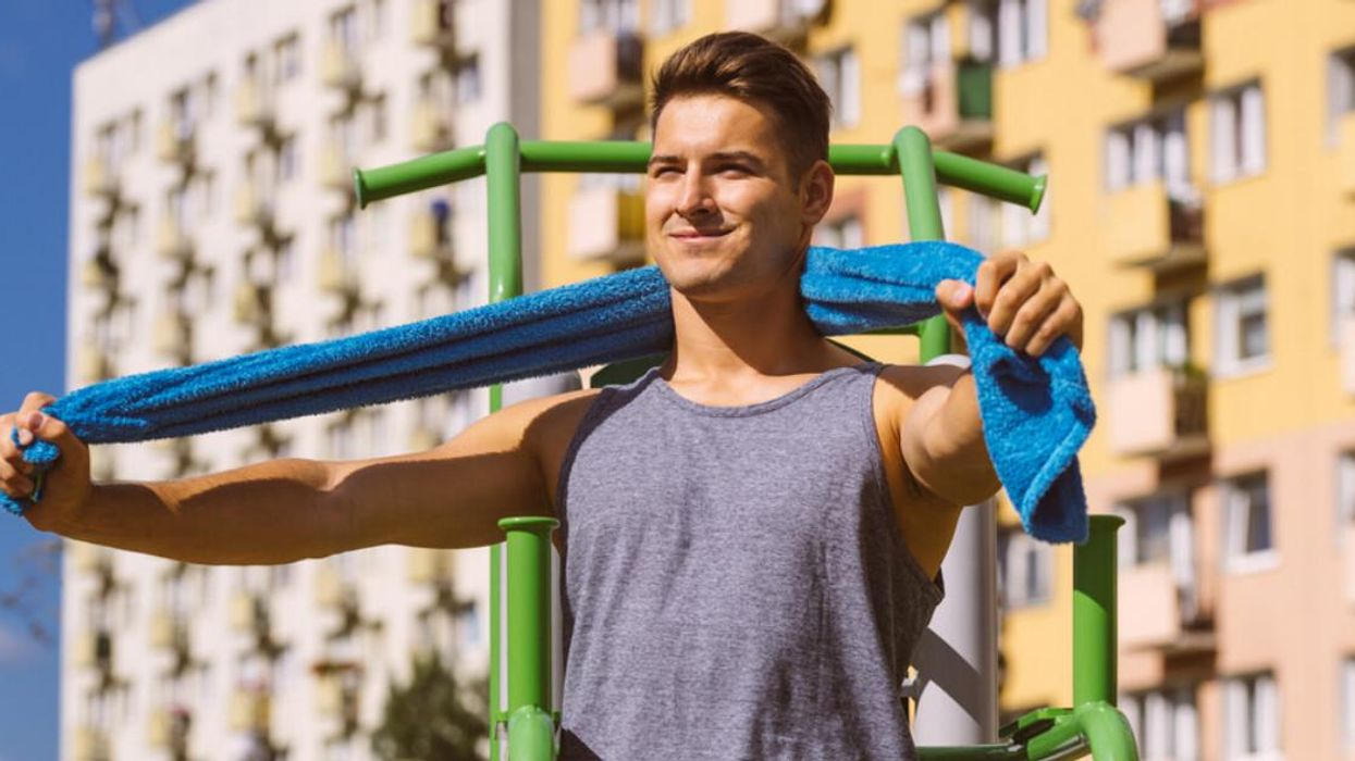 This Cooling Towel Is A Total Lifesaver & The Perfect Thing To Bring To Your Next Workout Class