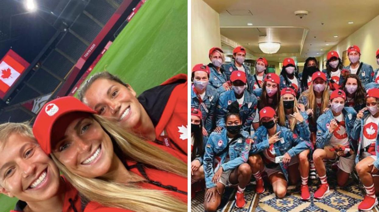 An Olympian From Ontario Just Helped Canada Beat The US & Reach The Olympics Soccer Final