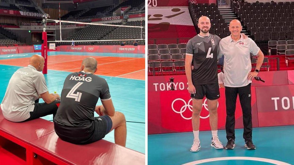Olympiques de Tokyo : Nick Hoag entrainé par son père pour la dernière fois