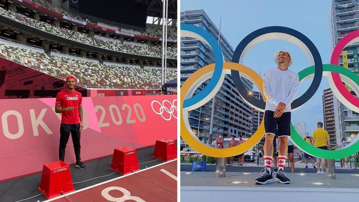 Andre De Grasse gagne la médaille d'or aux Olympiques de Tokyo