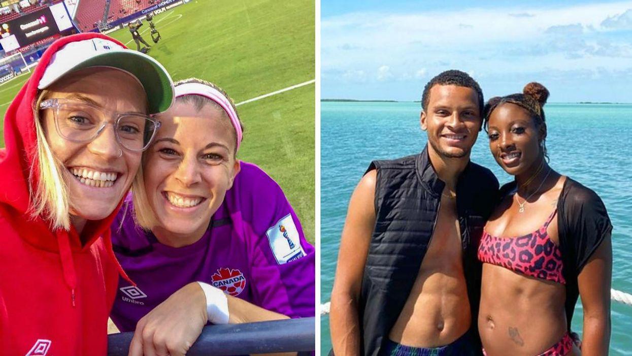 8 couples d'athlètes olympiques du Canada qui se surpassent
