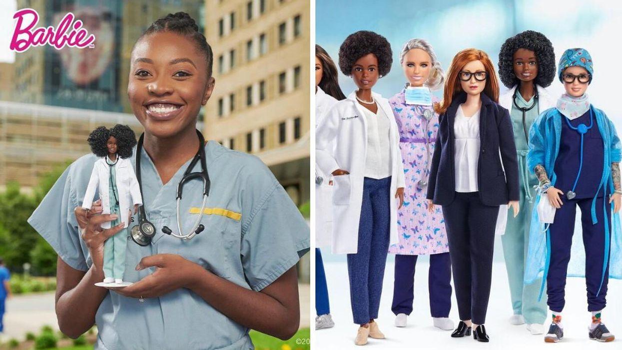 Barbie Makes Doll Based On Toronto Doctor & It's So Inspiring
