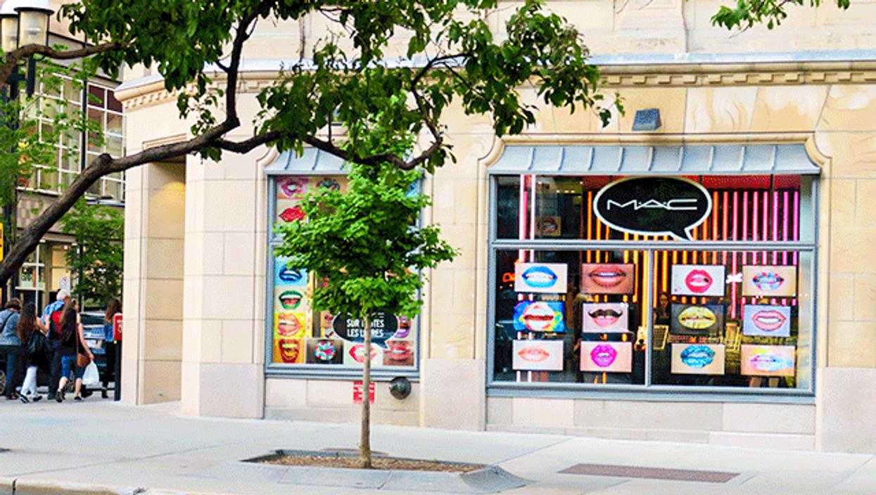 Un nouveau magasin MAC cosmétiques vient tout juste d'ouvrir ses portes à Montréal!