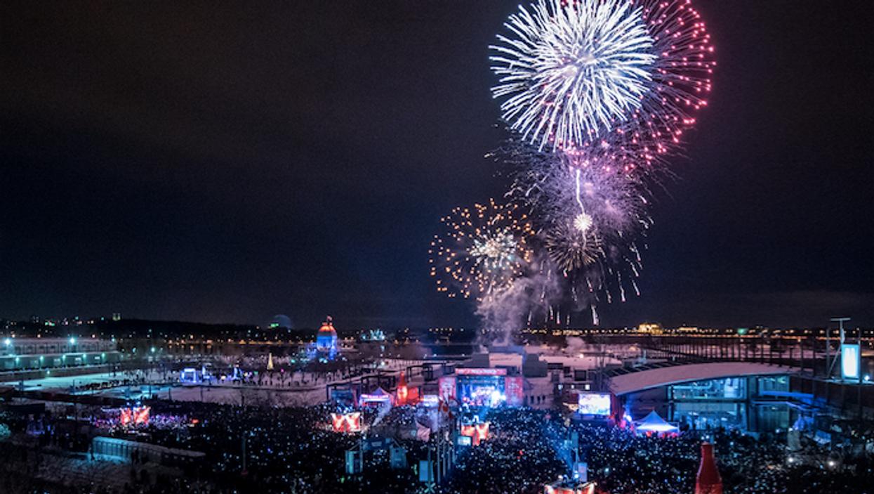 Le plus gros party du Nouvel An GRATUIT que tu ne veux pas manquer à Montréal