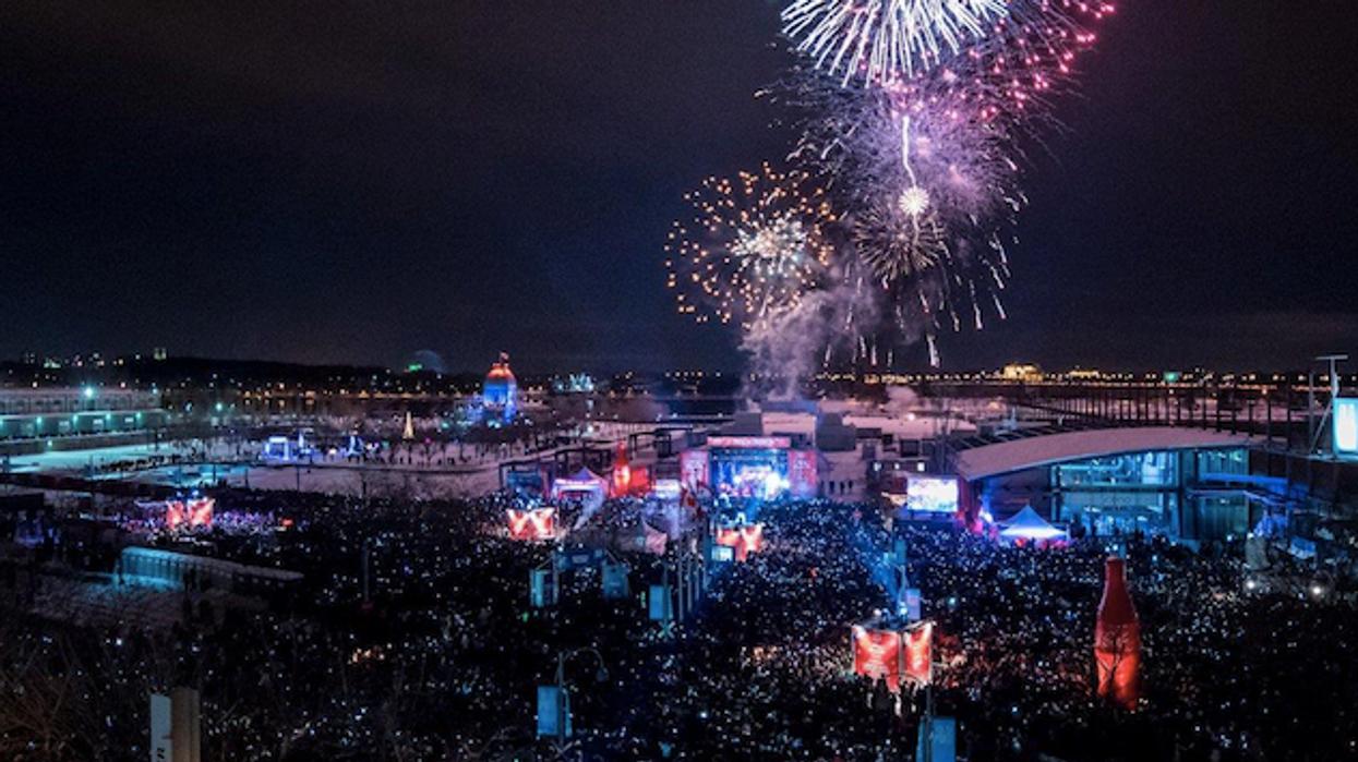 5 raisons pourquoi tu veux passer la veille du jour de l'an au Party de Montréal en Fêtes dans le Vieux-Montréal