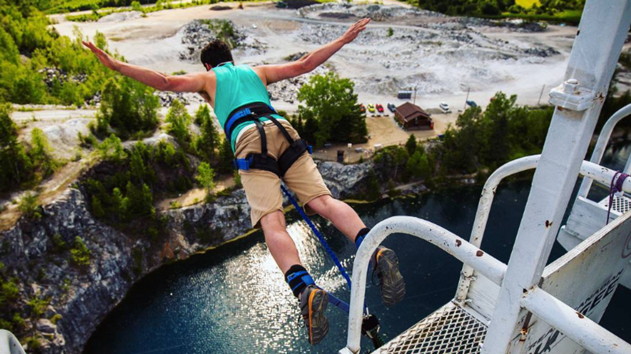 The Highest Bungee Jump In Canada Is Just 15 Minutes From Ottawa And You Need To Experience It