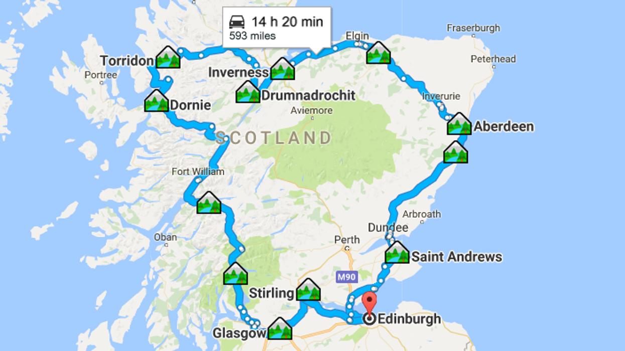 Voici pourquoi tu devrais partir sur la route de l'Écosse
