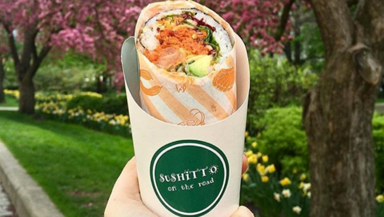 You Can Now Get A Sushi Burrito In Toronto