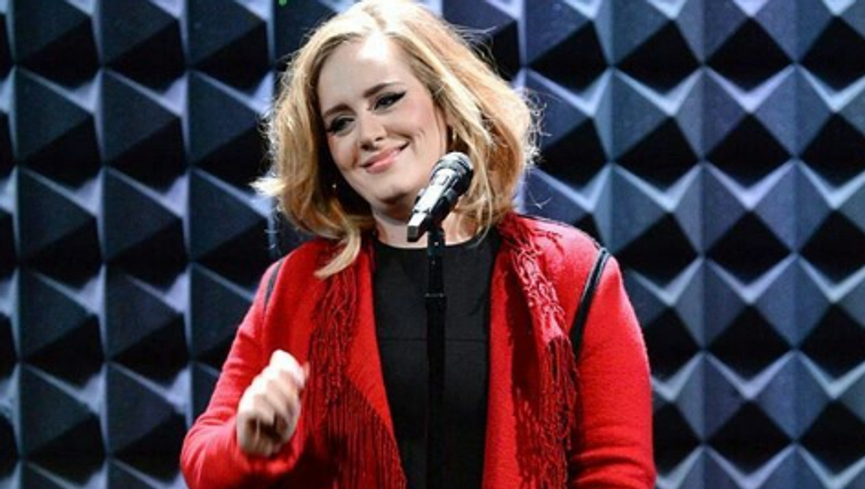 Adele Was Spotted Trying On Costumes At A Toronto Halloween Store With Her Son