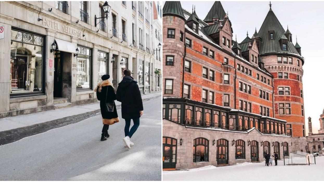 Les 10 plus beaux hôtels au Québec où tu dois dormir au moins une fois dans ta vie