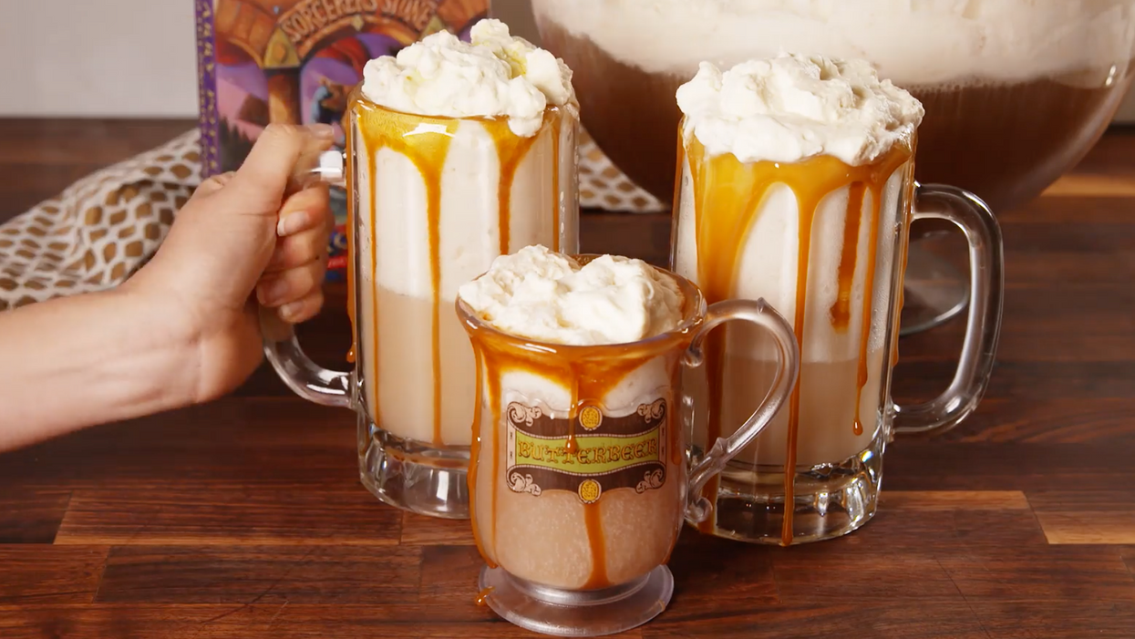 These Boozy Harry Potter Butterbeer Mugs Will Get You Drunk AF This Halloween